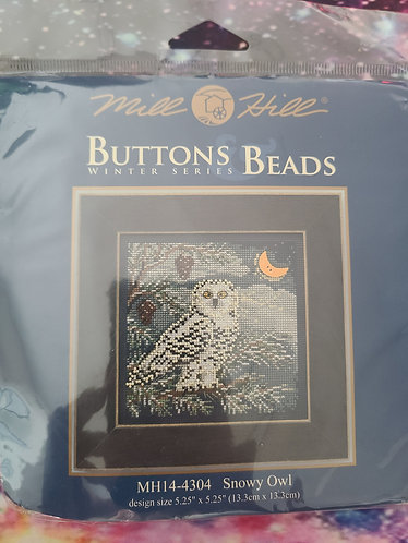 Mill Hill Buttons & Beads - Snowy Owl