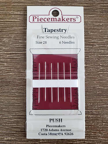 Piecemakers Needles - Tapestry Size 28