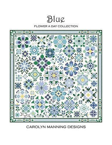 Blue Flower a Day