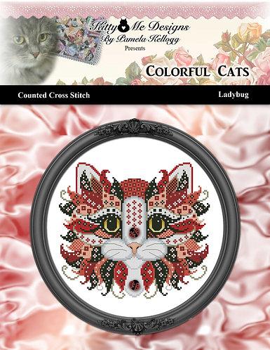 Colorful Cats - Ladybug