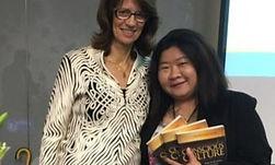 Singtel-Stephanie-loved-the-talk-3-books