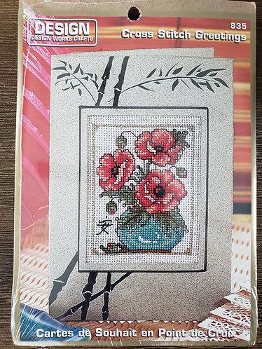 Cross Stitch Greetings #835