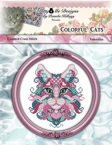 Colorful Cats - Valentino