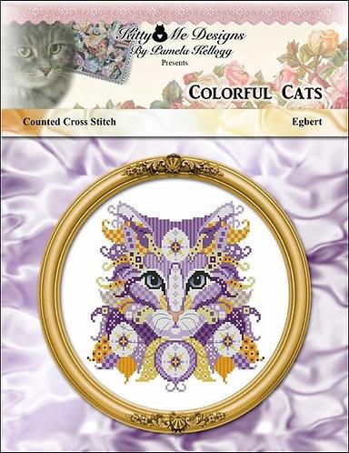 Colorful Cats - Egbert