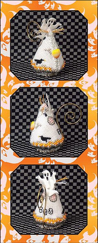 Candy Corn Ghost Mouse - Limited Edition