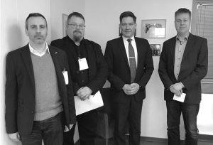 Miesten tasa-arvo ry:n neljä kärkiteemaa ministeritapaamisella