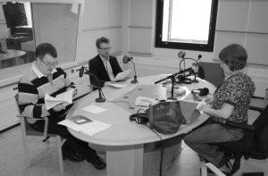Juuso Erno ja Pasi Malmi Kaapin paikka -ohjelmassa