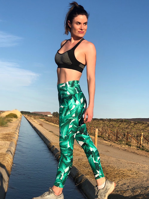 TROPICAL GYM TIGHTS