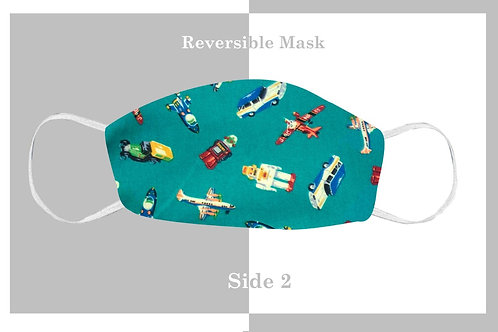 Planes/Trains Kids' Mask