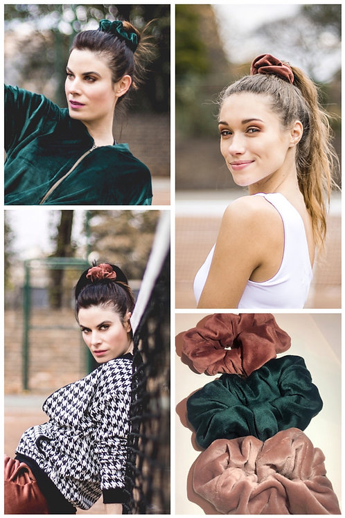 Velour Scrunchie