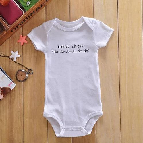 BABY SHARK Babygrow / T-shirt
