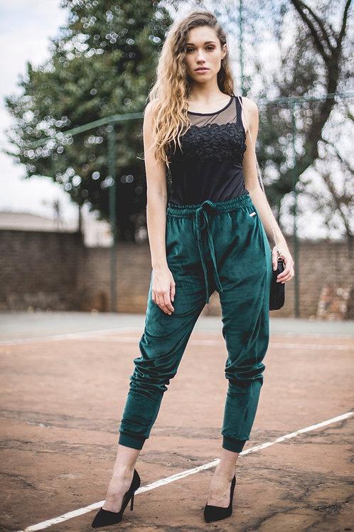 Luxury Velour Sweatpants