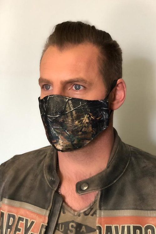 Hunter's Camo Men's Mask