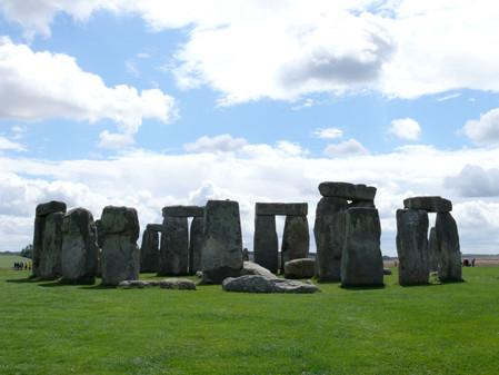 pierres levées à Stone Hendge