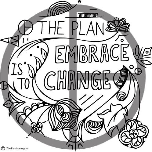 Embrace Change Print