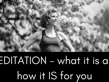 Meditation: It's NOT not thinking!