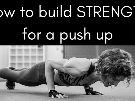 How to build strength for a push-up
