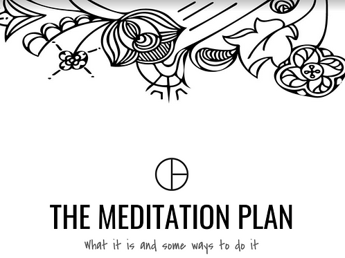The Meditation Plan