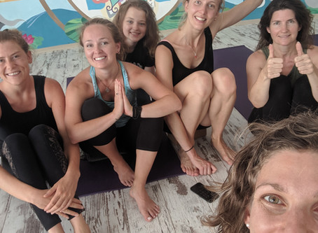 Week Two of Yoga Teacher Training