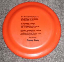 Lanny-Poffo-Genius-Flying-Disc-Frisbee-1