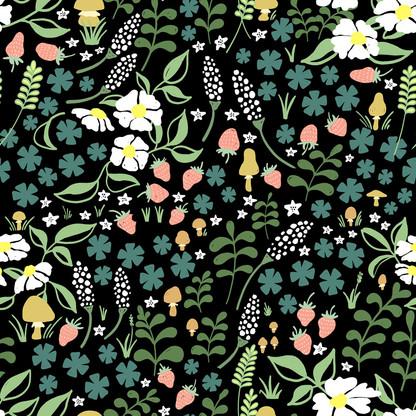 """pattern design """"forest floor"""" dark"""