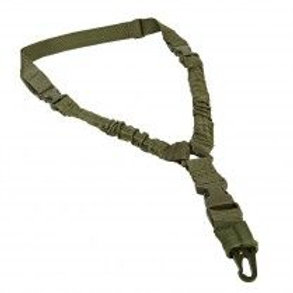 VISM® by NcSTAR® DELUXE SINGLE POINT BUNGEE SLING/ GREEN