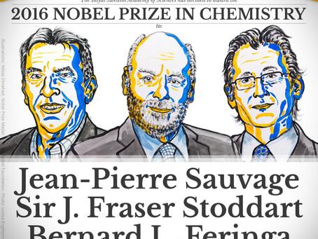 Nanomachines won the 2016 Nobel Prize in Chemistry