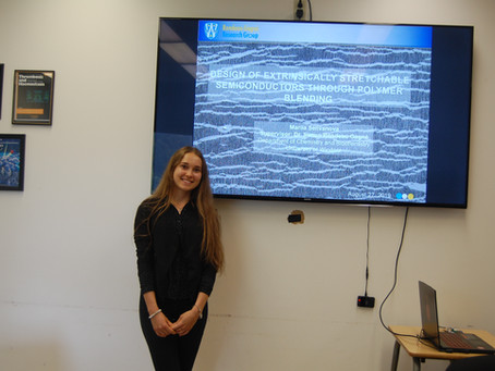 Congratulations to Mariia, first student of the RG group to graduate