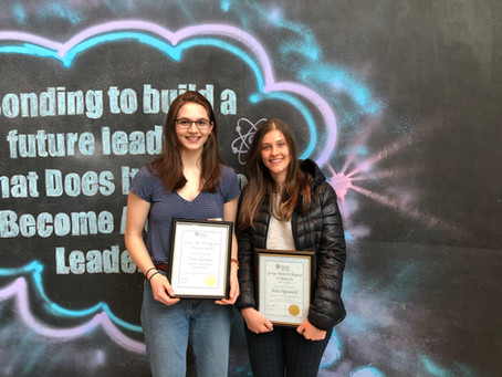 Our Team Recognized at the Annual U.Windsor Faculty of Science Student Awards Reception