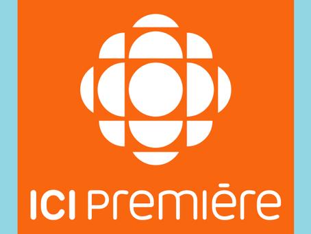 """Simon featured at """"L'heure de pointe""""  CBC/Radio-Canada"""