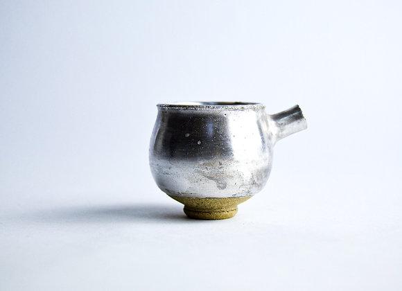 No. S22 Yuta Segawa Miniature Pot 'Silver' Medium