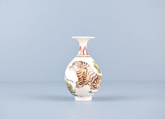 Miyu Kurihara × Yuta Segawa Miniature No.30 'Tiger and grass'
