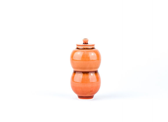 No. E10 Yuta Segawa Miniature Pot & Cover  Large