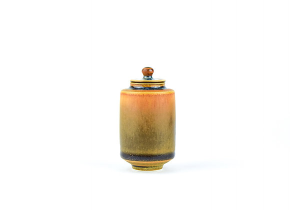 No. E15 Yuta Segawa Miniature Pot & Cover  Large