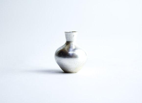 No. S1 Yuta Segawa Miniature Pot 'Silver' Small