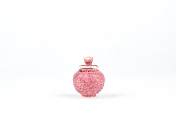No. E85 Yuta Segawa Miniature Pot & Cover  Small