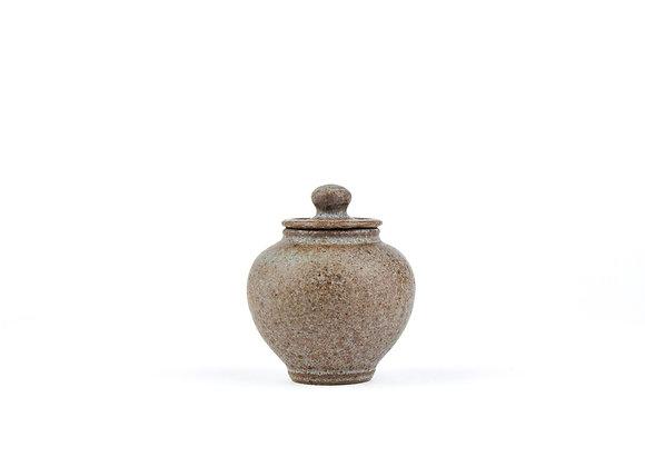 No. E32 Yuta Segawa Miniature Pot & Cover  Medium