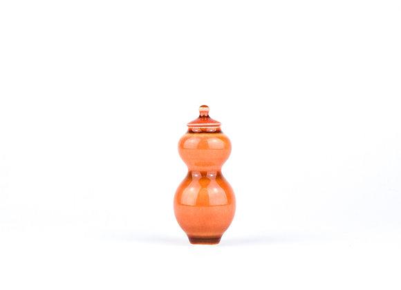 No. E37 Yuta Segawa Miniature Pot & Cover  Medium
