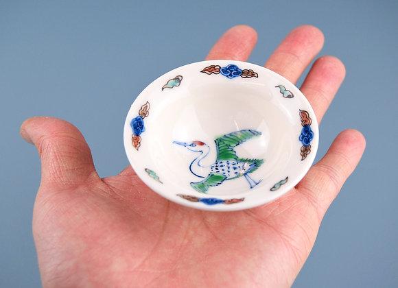 Miyu Kurihara × Yuta Segawa Miniature No.40 'Crane and cloud'