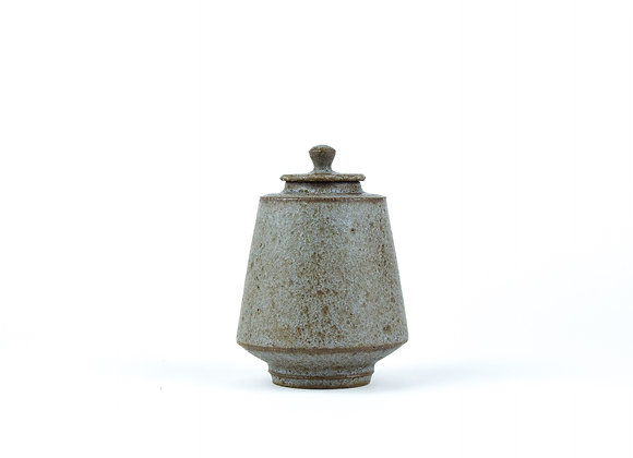 No. E6 Yuta Segawa Miniature Pot & Cover  Large
