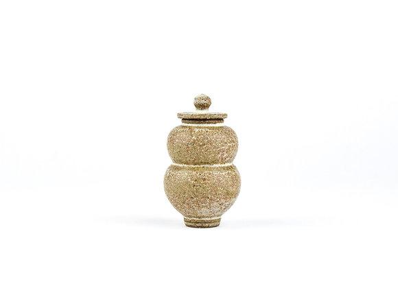 No. E39 Yuta Segawa Miniature Pot & Cover  Medium