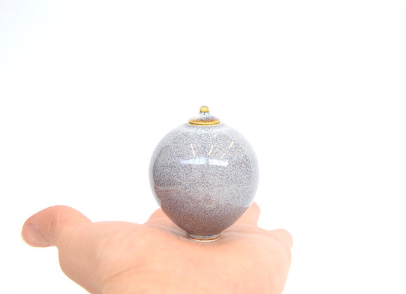 Miniature Pot&Cover Large No.27
