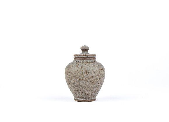 No. E31 Yuta Segawa Miniature Pot & Cover  Medium