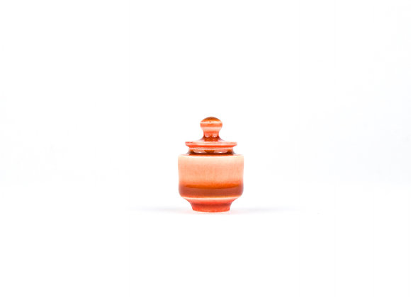No. E74 Yuta Segawa Miniature Pot & Cover  Small