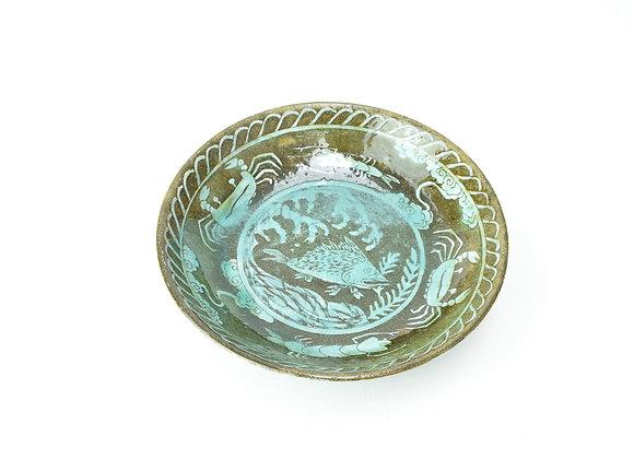 """Large bowl No.5 Miyu Kurihara x Yuta Segawa """"Sea creatures"""""""