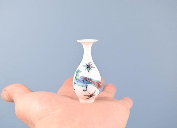 Miyu Kurihara × Yuta Segawa Miniature No.25 'Peacok and cloud'