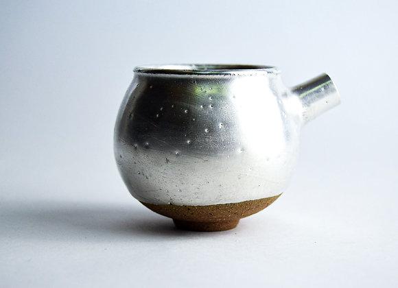 No. S39 Yuta Segawa Miniature Pot 'Silver' Extra Large