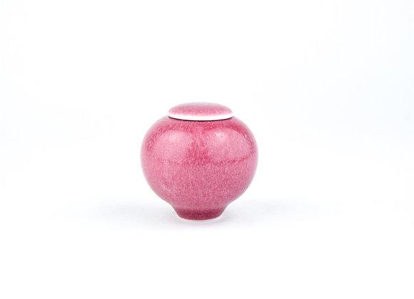 No. E109 Yuta Segawa Miniature Pot & Cover  Medium