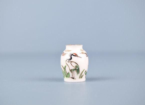 Miyu Kurihara × Yuta Segawa  No.46 'Crane and lotus flower'
