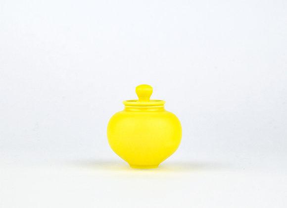 No. E36 Yuta Segawa Miniature Pot & Cover  Medium